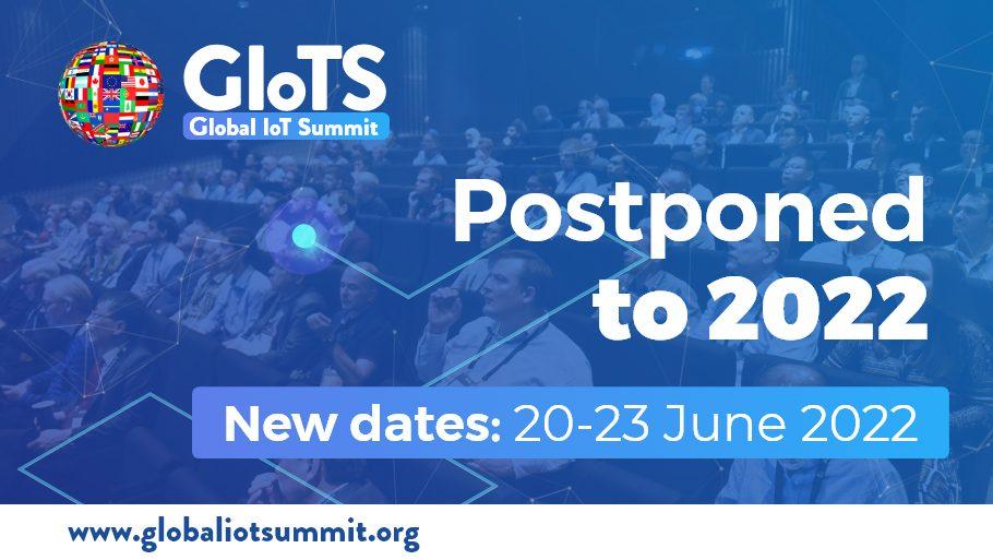 GIoTS 2021 has been postponed