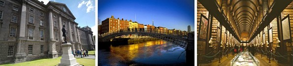 Dublin Tour with Trinity College & Book of Kells