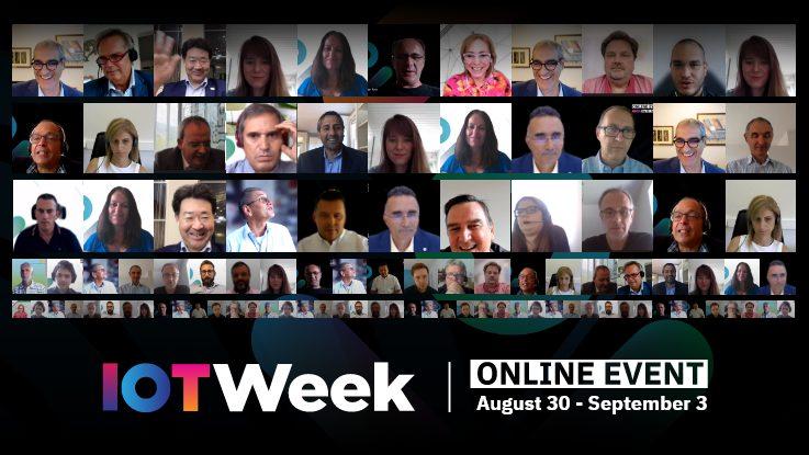 Past Events - IoT Week Online Event 2021 banner